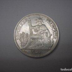 Monedas antiguas de Asia: INDOCHINA FRANCESA. 1 PIASTRA DE PLATA DE 1924. Lote 177985272