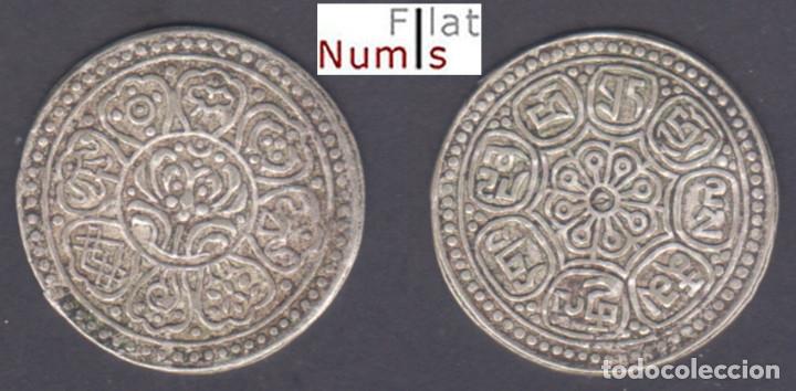 TIBET - TANGKA -1899/1907 - PLATA - Y-E13.1 - E.B.C (Numismática - Extranjeras - Asia)