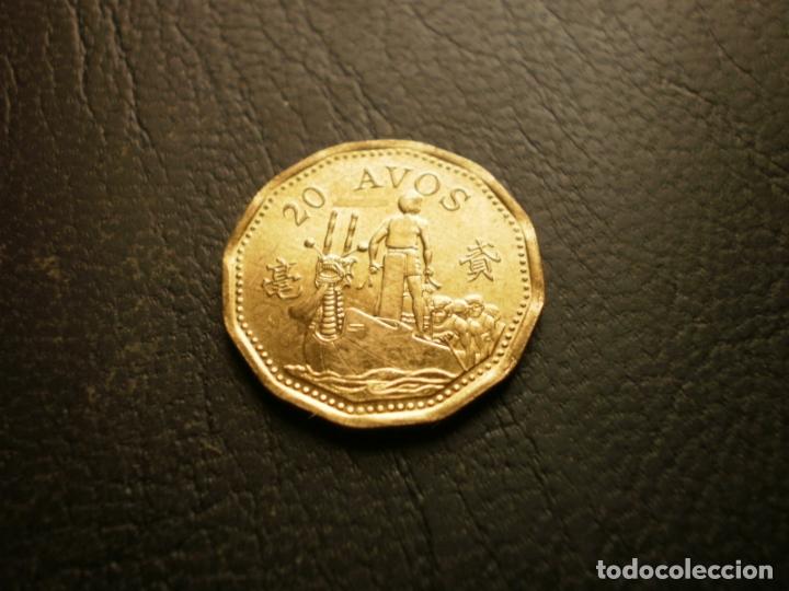 MACAO 20 AVOS 1993 (Numismática - Extranjeras - Asia)