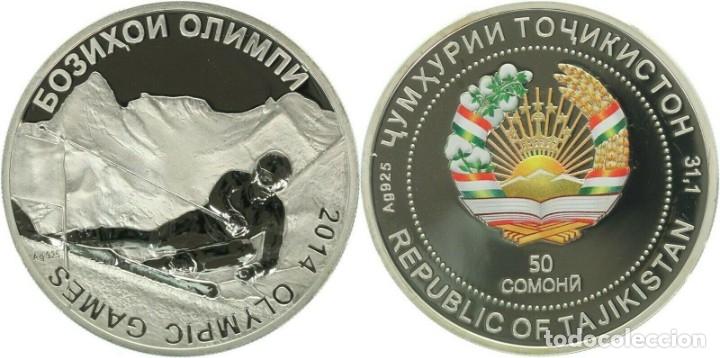 TAYIKISTAN 50 SOMONI 2014 (Numismática - Extranjeras - Asia)