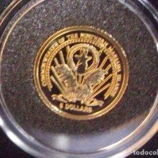 Monedas antiguas de Asia: 5 DOLARES DE ORO PURO . ISLAS MARIANAS AÑO 2005. Lote 181211166