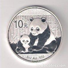 Monedas antiguas de Asia: MONEDA DE 10 YUAN (ONZA) DE CHINA DE 2012 OSO PANDA. PLATA. PROOF. (ME181). Lote 181603241