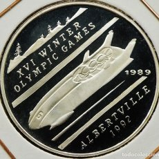 Monedas antiguas de Asia: AFGHANISTAN 500 AFGHANIS 1989 PROOF. PLATA 0,999. ESCASA SOLO 10.000 PIEZAS. Lote 182050141