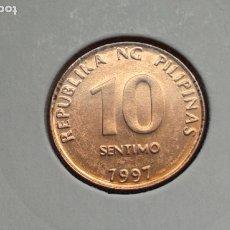 Monedas antiguas de Asia: FILIPINAS 10 CENTIMOS/SENTIMOS 1997 (SIN CIRCULAR). Lote 182380527