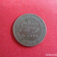 Monedas antiguas de Asia: MUSCAT AND OMAN. 1/4 ANNA. ANTIGUA. Lote 182754938