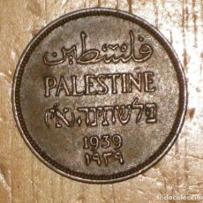 Monedas antiguas de Asia: PALESTINA 1 MIL, 1939 REF 3025. Lote 182898371
