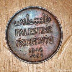 Monedas antiguas de Asia: PALESTINA 2 MILS, 1945 REF 2027. Lote 182899176
