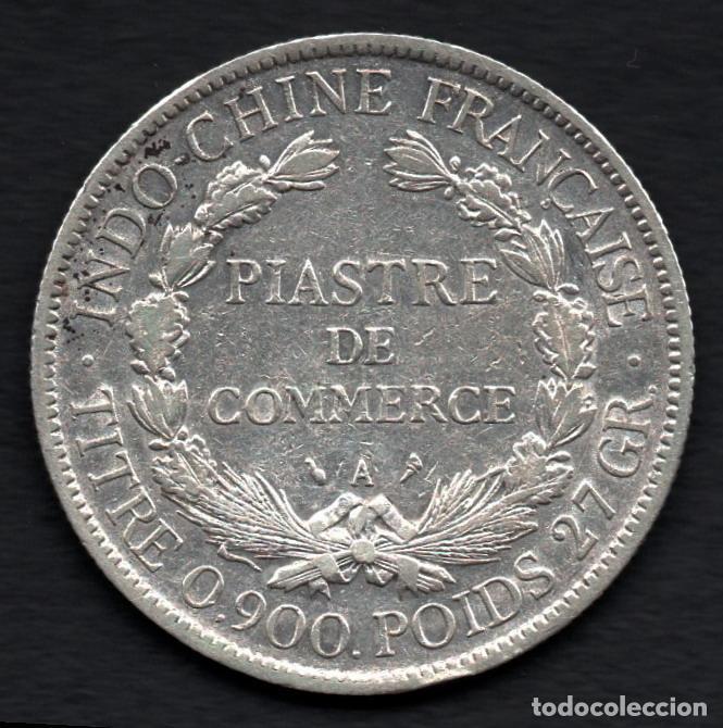 Monedas antiguas de Asia: INDOCHINA FRANCESA - PIASTRA DE COMERCIO de PLATA 1906 - Foto 2 - 183676906