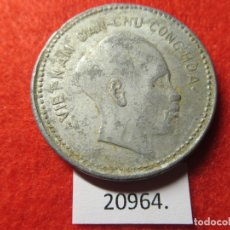 Monedas antiguas de Asia: VIETNAM 1 DÔNG 1946, DONG, DIFICIL. Lote 184350770