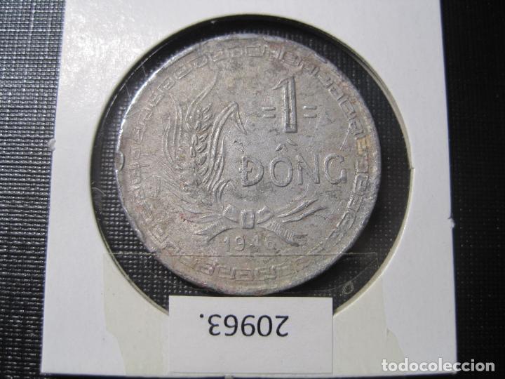 Monedas antiguas de Asia: Vietnam 1 dông 1946, dong, DIFICIL - Foto 4 - 184350831