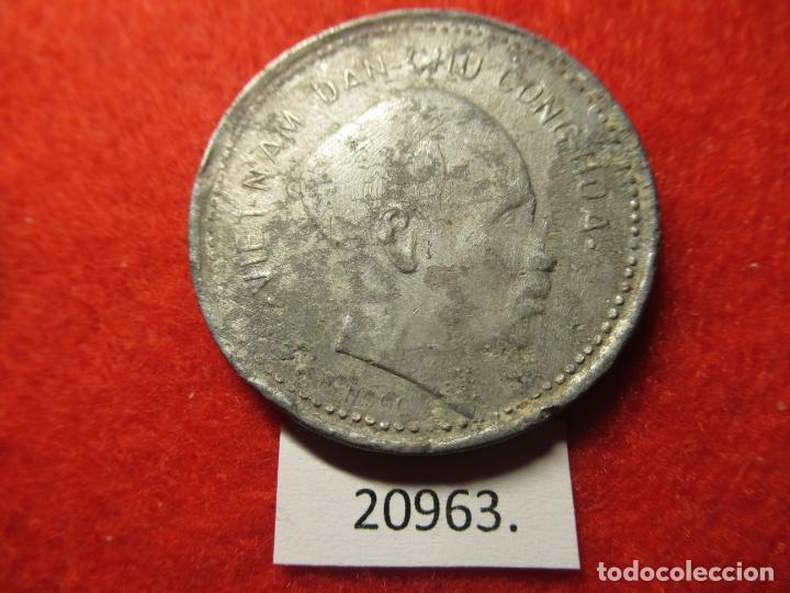 VIETNAM 1 DÔNG 1946, DONG, DIFICIL (Numismática - Extranjeras - Asia)
