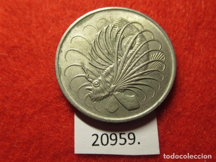 SINGAPUR 50 CENTIMOS 1972 (Numismática - Extranjeras - Asia)