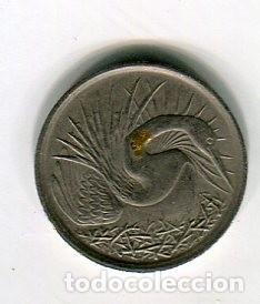 SINGAPORE 5 CENTS AÑO 1972 (Numismática - Extranjeras - Asia)
