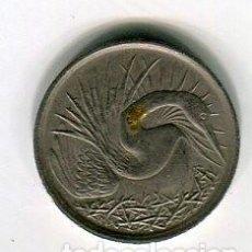 Monedas antiguas de Asia: SINGAPORE 5 CENTS AÑO 1972. Lote 184658195