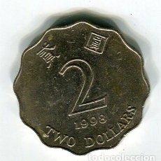 Monedas antiguas de Asia: HONG KONG 2 DOLARES AÑO 1995. Lote 184825585
