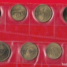 Monedas antiguas de Asia: INDONESIA JUEGO DE 4 MONEDAS 500,100,50 Y 25 RUPIAS 1994 A 96. Lote 186069853