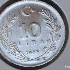 Monedas antiguas de Asia: TURQUIA 10 LIRAS 1988 (SIN CIRCULAR). Lote 186412867