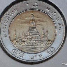 Monedas antiguas de Asia: TAILANDIA 10 BAHT 1989 . Lote 186413966