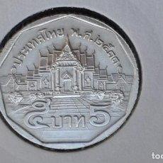 Monedas antiguas de Asia: TAILANDIA 5 BAHT 1990 (SIN CIRCULAR). Lote 186414201