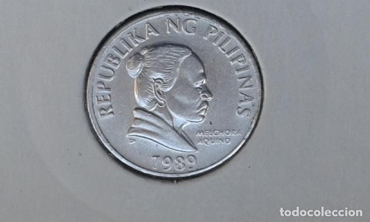 Monedas antiguas de Asia: FILIPINAS 5 CENTIMOS 1989 (SIN CIRCULAR) - Foto 2 - 186435490