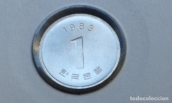 COREA DEL SUR 1 WON 1983 (SIN CIRCULAR) (Numismática - Extranjeras - Asia)