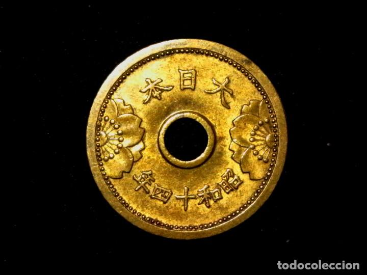 5 SEN DE 1939 JAPÓN SHOWA (TA5) (Numismática - Extranjeras - Asia)