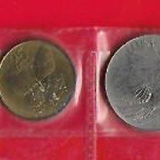 Monedas antiguas de Asia: FILIPINAS JUEGO DE 7 MONEDAS DE 2 Y 1 PISO Y DESDE 50 A 1 SENTIMO FECHAS ENTRE 1983 Y93. Lote 187469326