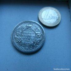 Monedas antiguas de Asia: MONEDA DE PLATA DE 1 RUPIA DE LA INDIA BRITANICA AÑO 1945 SIN CIRCULAR. Lote 189199016