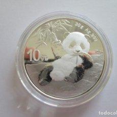 Monedas antiguas de Asia: CHINA * 10 YUAN 2020 PANDA * PLATA SC. Lote 190351941