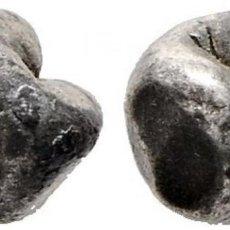 Monedas antiguas de Asia: THAILANDIA. RAMA III. 1/8 BATH O FUANG. 1824-1851. K17 (300$). MARCA DEL REY (KRUT SIO). EBC-. RARA. Lote 190521951