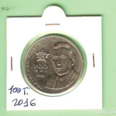 Monedas antiguas de Asia: KAZAKSTAN. 100 TENGE 2016.TOKTAGAN ZHANGELDIN. Lote 236407535