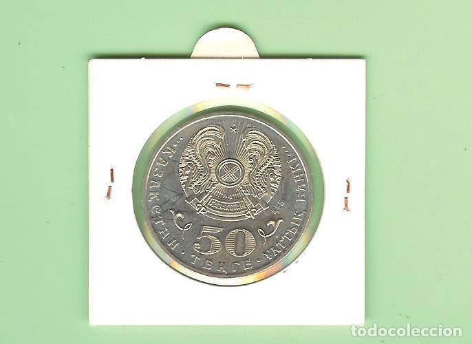 Monedas antiguas de Asia: KAZAKSTAN. 50 TENGE 2015 Malik Gabdullin - Foto 2 - 238513135