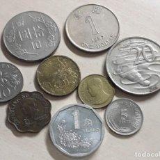 Monedas antiguas de Asia: MONEDAS DE ASIA Y OCEANÍA. LOTE DE 8 MONEDAS.. Lote 190764842