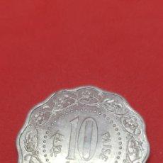 Monedas antiguas de Asia: INDIA 10 PAISE 1972 S/C. Lote 191306172