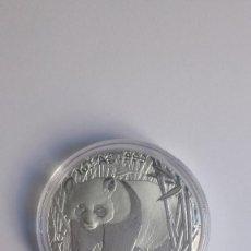 Monedas antiguas de Asia: PANDA 2001 1 OZ CON LETRA D. Lote 193421605
