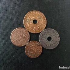 Monedas antiguas de Asia: CONJUNTO DE MONEDAS DE INDIAS ORIENTALES NEERLANDESAS SIGLO XIX. Lote 165010382