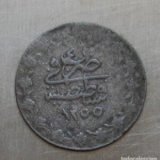 Monedas antiguas de Asia: 20 PARA 1255/4 A.H. (1842). ABDUL MEJID TURQIUA. KM# 652. Lote 194185257