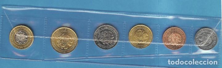 ARMENIA. 6 MONEDAS DE 6 VALORES DIFERENTES 10, 20, 50, 100, 200 Y 500 DRAM NO CIRCILADAS (Numismática - Extranjeras - Asia)