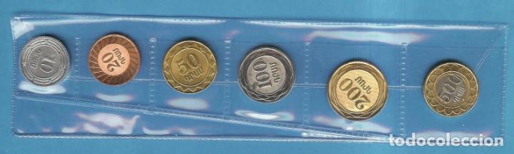 Monedas antiguas de Asia: ARMENIA. 6 MONEDAS DE 6 VALORES DIFERENTES 10, 20, 50, 100, 200 Y 500 DRAM NO CIRCILADAS - Foto 2 - 194215657