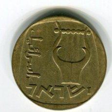 Monedas antiguas de Asia: ISRAEL 25 AGOROT - SE ENVIA LA MONEDA DE LAS IMAGENES -. Lote 194237587