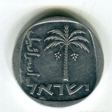 Monedas antiguas de Asia: ISRAEL 10 AGOROT - SE ENVIA LA MONEDA DE LAS IMAGENES -. Lote 194270206