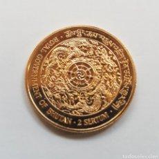 Monedas antiguas de Asia: BHUTAN. 2 SERTUM. 1979. ORO. 15,98 GR.. Lote 194271138