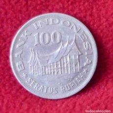 Monedas antiguas de Asia: 100 RUPIAS INDONESIA 1978. Lote 194365707