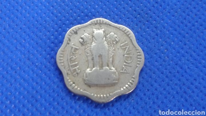 INDIA 10 PAISA 1957 (Numismática - Extranjeras - Asia)