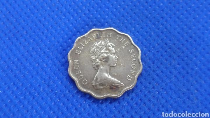 Monedas antiguas de Asia: HONG KONG 20 CENTS 1977 - Foto 2 - 194534798