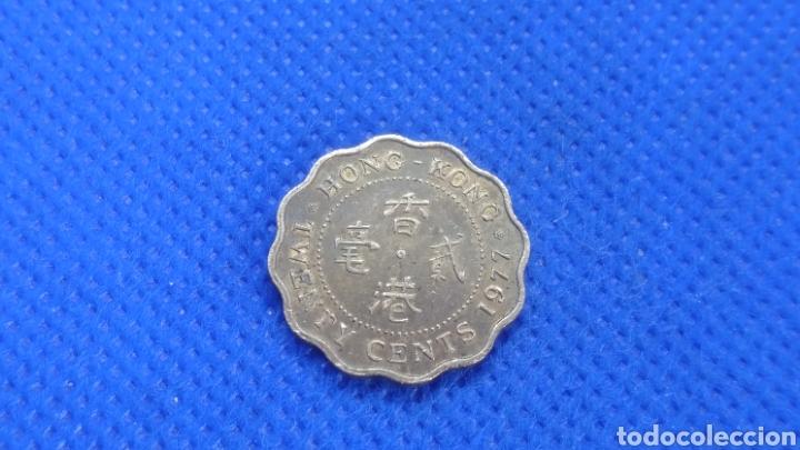 HONG KONG 20 CENTS 1977 (Numismática - Extranjeras - Asia)