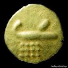 Monedas antiguas de Asia: FANAM DE ORO DE LA INDIA HOLANDESA, MADRAS - 8 MM / 0.4 GR.. Lote 194569953