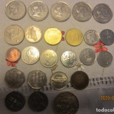 Monedas antiguas de Asia: LOTE VARIADO DE MONEDAS DE VARIOS PAISES. Lote 194582100
