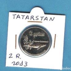 Monedas antiguas de Asia: TATARSTAN. 2 RUBLOS 2013. Lote 194584017