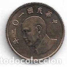 Monedas antiguas de Asia: TAIWAN,1 DOLAR 2013.. Lote 194633141